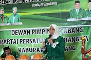 Lantik WPP Pinrang, Andi Nurhidayati Minta Kader Intens Temui Masyarakat