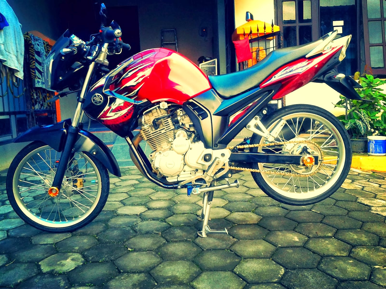Foto Modifikasi Yamaha New Scorpio Z