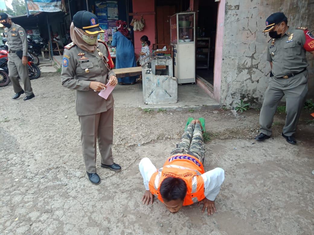 Polsek Kiarapedes Polres Purwakarta Menggelar Operasi Yustisi