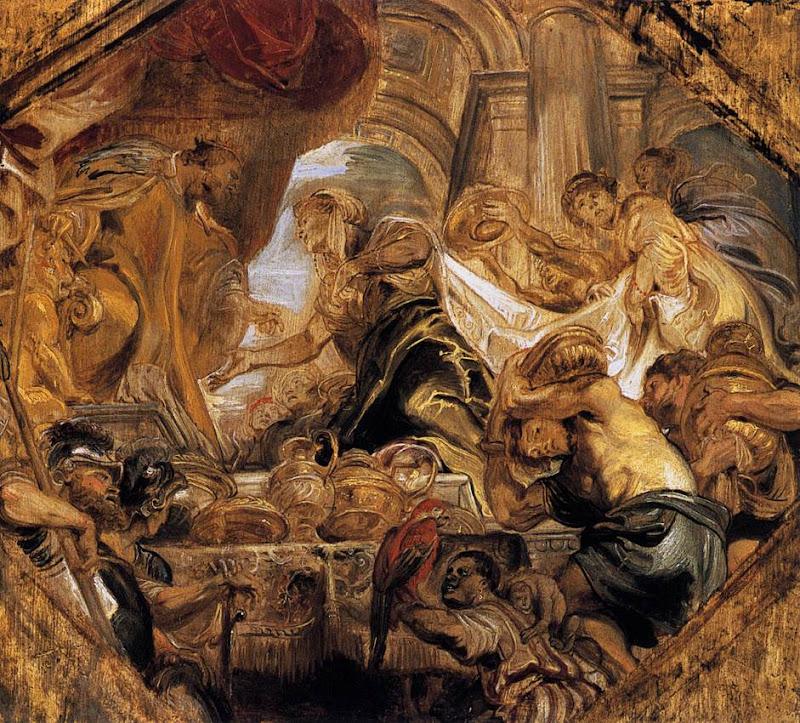 King Solomon And Queen Of Sheba Pieter Pauwel Rubens, King Solomon