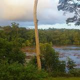 Après la pluie sur Saut Athanase (Guyane). 20 novembre 2011. Photo : J.-M. Gayman