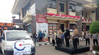 Ajak Patuhi Protkes, Polres Karawang Gandeng Pekerja Seni