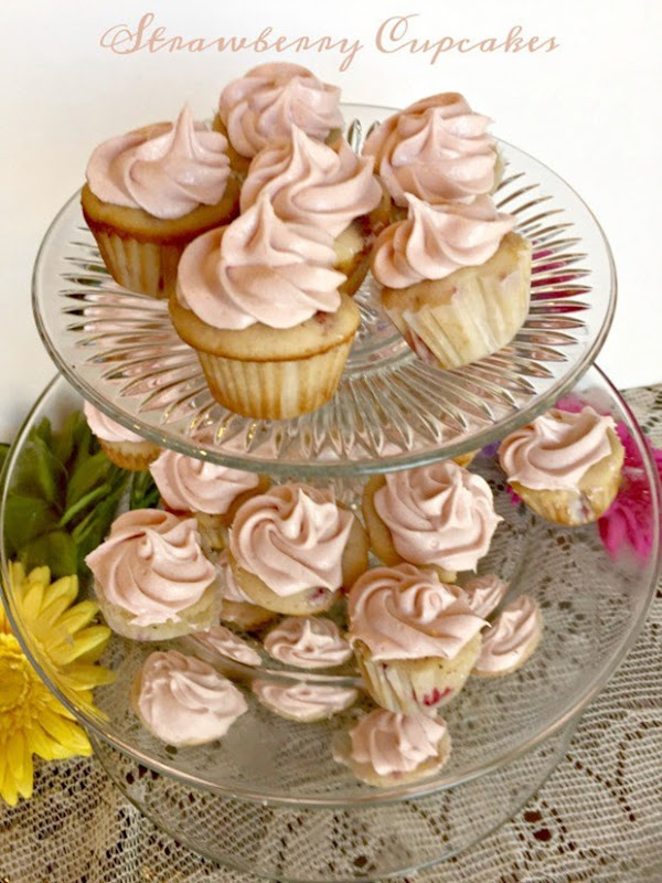 Strawberry-Cupcakes-Mini