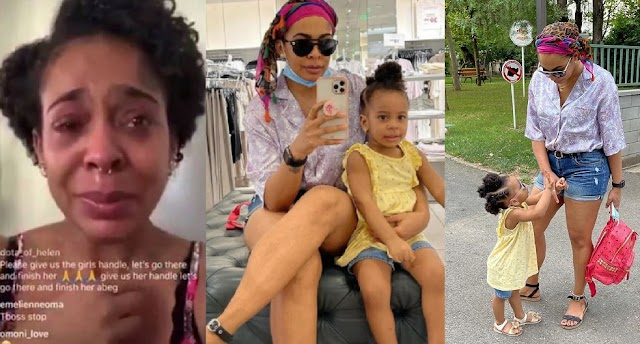 My Daughter Almost Gave Me A Heart Attack'- Reality TV Star, TBoss Shares Her Terrifying Experience