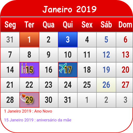 Calendario 18.Portugal Calendario 2019 Google Play Programos