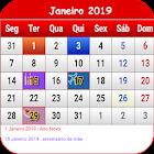 Portugal Calendário 2019 icon