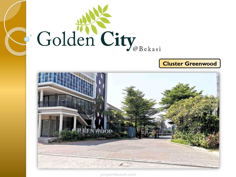 Rumah Cluster Greenwood Golden City Bekasi