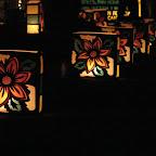 Faroles con motivos florales