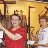 L ro R: volunteers Helen McAllister & Betty Bradbury, c. 2010