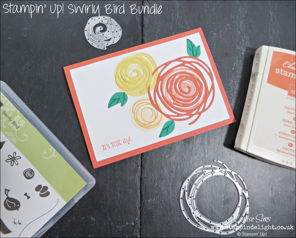 Stampin Up Swirly Bird Bundle - buy both together and save 10%