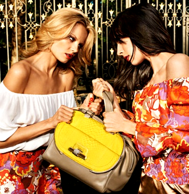 Jimmy Choo Accessorie Spring Summer 2012 ad campaign