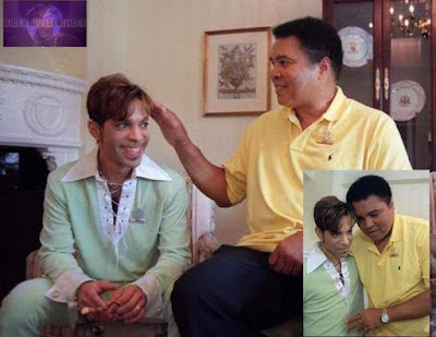 Checkout This Adorable Photo Of Muhammad Ali And Late Prince