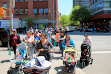 Stroller brigade charges ahead