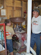 Photo: Steve Getting A Lesson In Milling