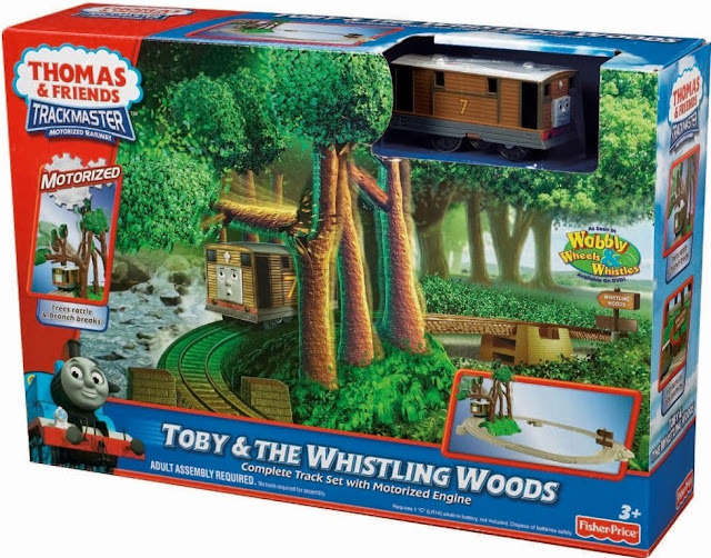 Sản phẩm Toby & The Whistling Woods Fisher Price V6752
