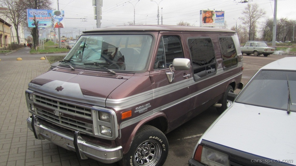 1992 Chevrolet Chevy Van Specifications  Pictures  Prices