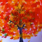 Herbstbäume der 1.und 2. Klasse
