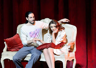 Photo: WIENER STAATSOPER: DON PASQUALE. Inszenierung: Irina Brook. Premiere: 26.4.2015. Alessio Arduini, Valentina Nafornita. Copyright: Barbara Zeininger.