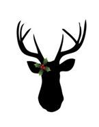 antlers christmas
