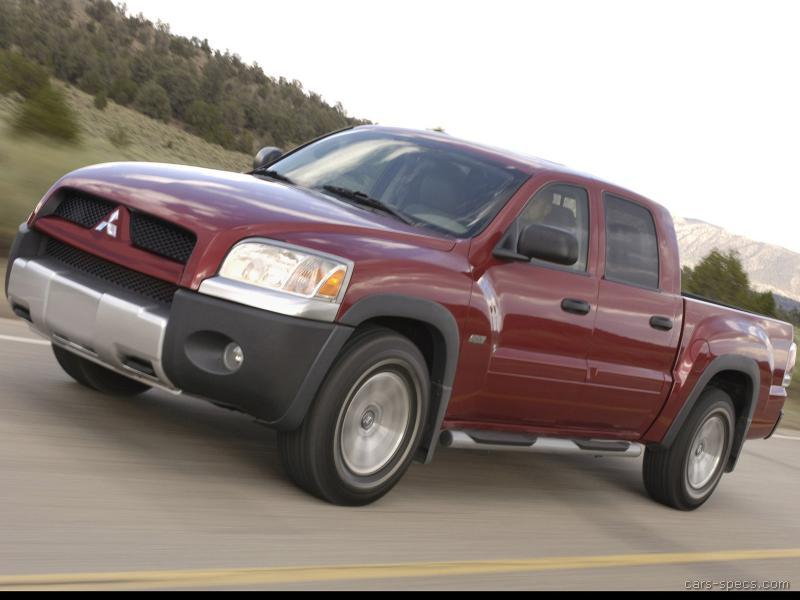 2006 mitsubishi raider extended cab specifications pictures prices. Black Bedroom Furniture Sets. Home Design Ideas
