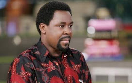 Members stands in disbelief as they were told of the Death of Prophet T B Joshua