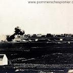 Gunshot from 28 cm gun of Tirpitz battery