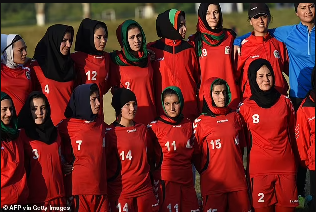 Afghanistan's women's football stars risk being turned into 'sex slaves' and tortured to death by the Taliban