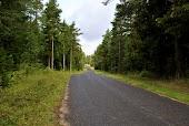 Пустынные дороги на эстонских островах