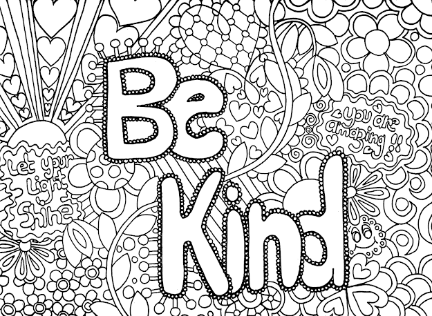 Coloring Pages For Teenagers