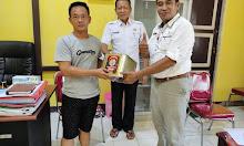 Marketing Kopi Obor Support Barang Untuk Panitia Turnamen Volley Belitang