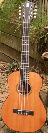 Luke Kallquist Guitars baritone taropatch 8 string ukulele