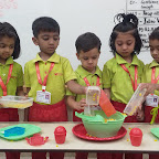 Corn Salad Making Activity done by Jr Kg at Witty World,Chikoowadi (2018-19)