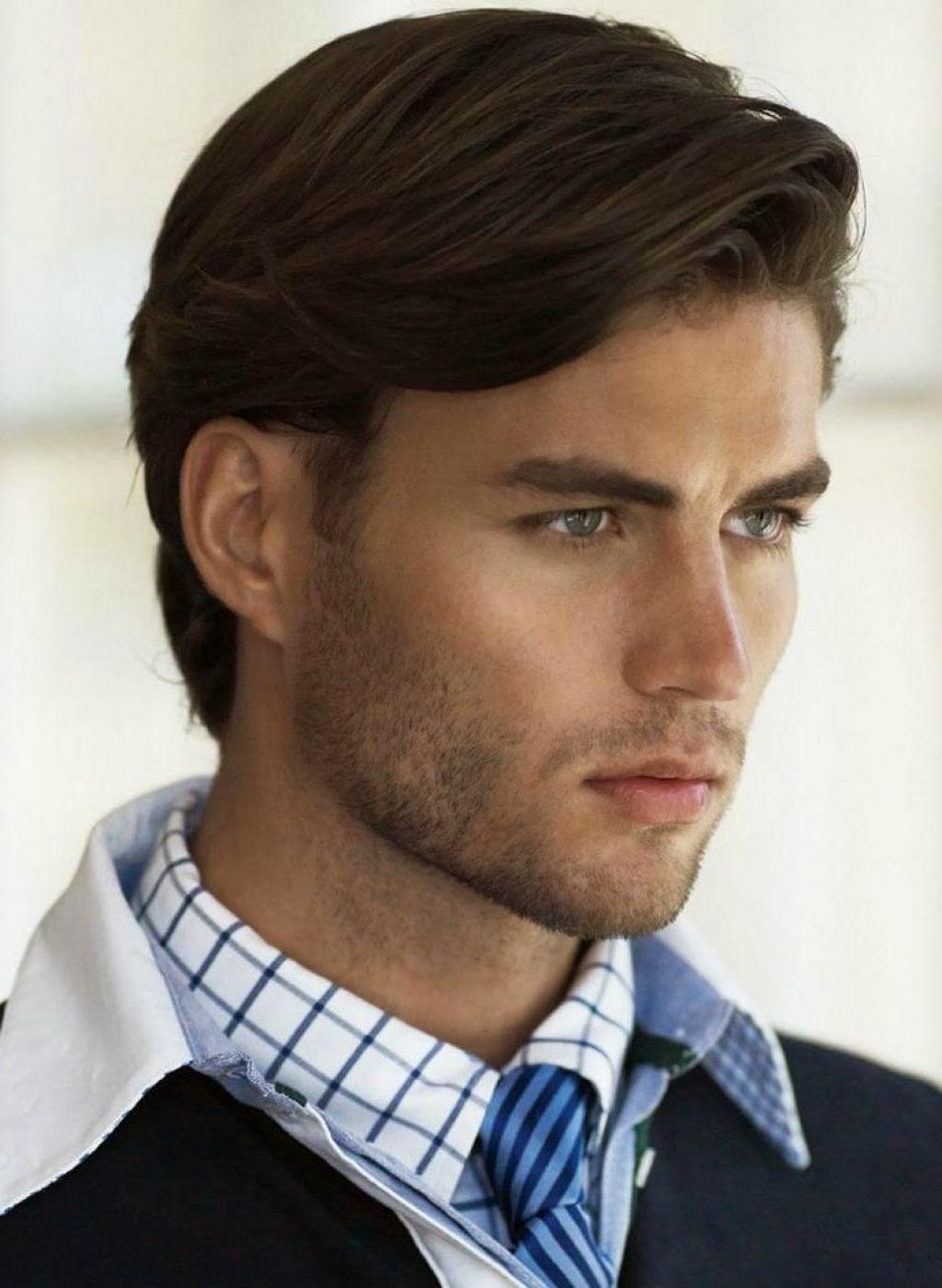 Peinados De Medio Lado Para Hombres