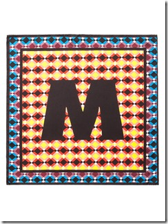 MARNI BLINKY COLLECTION XMAS 2016 - foulard
