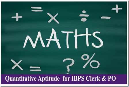 Quantitative Aptitude PDF For IBPS