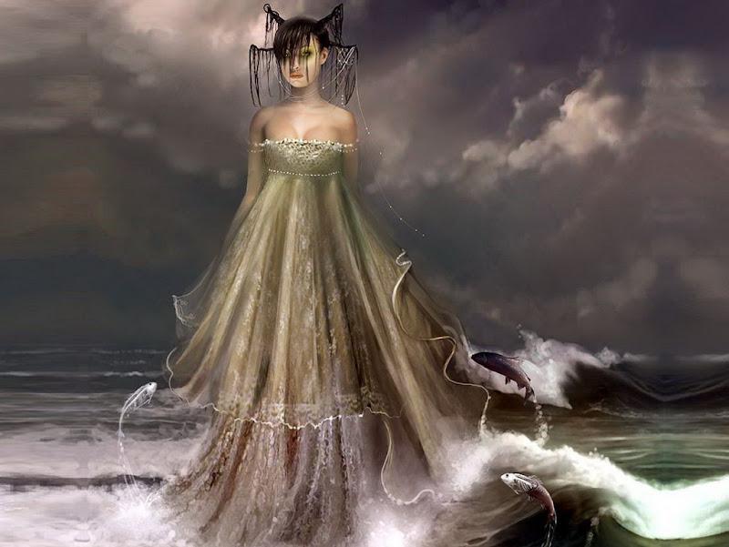 Sea Goddess, Goddesses
