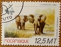 timbre Mozambique 001