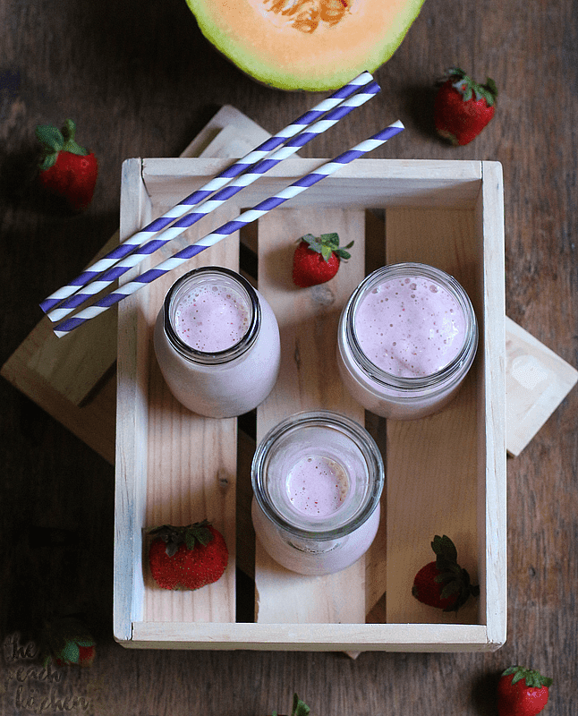 Melon Strawberry Smoothie