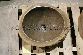 Boulder Sink, Boulder Sinks, Carved Stone Sink, Kitchen & Bath, Rock Sink, Vessel Sinks