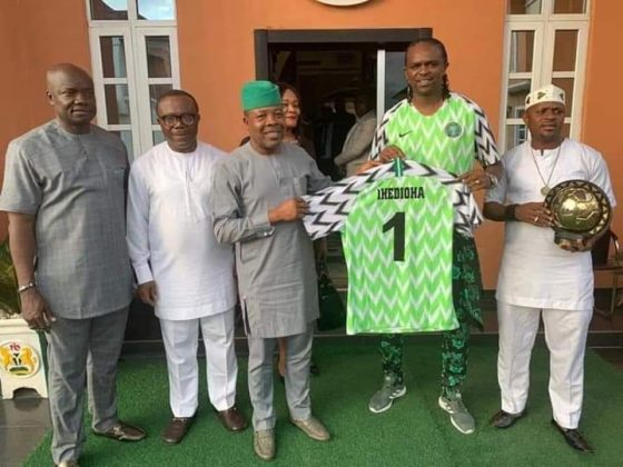 Just In: Imo Governor, Ihedioha appoints Ex-Super Eagles Star, Kanu Nwankwo as SSA on Sports