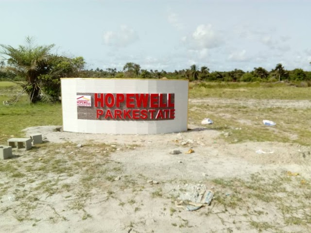 HOPEWELL PARK ESTATE, IBEJU LEKKI, LAGOS (LAND FOR SALE)
