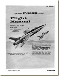 Republic F-105B Thunderchief Flight Manual_001