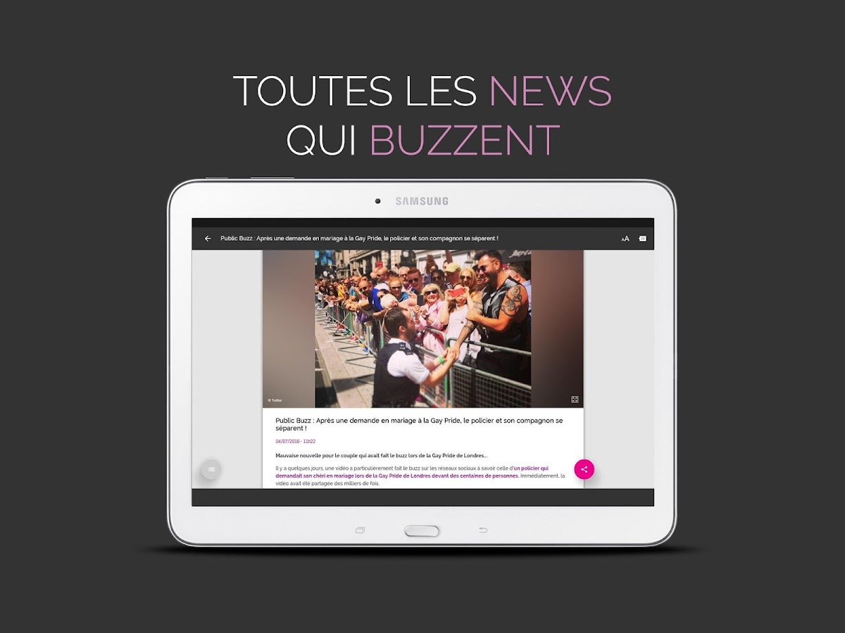 Public : News et actus People- screenshot