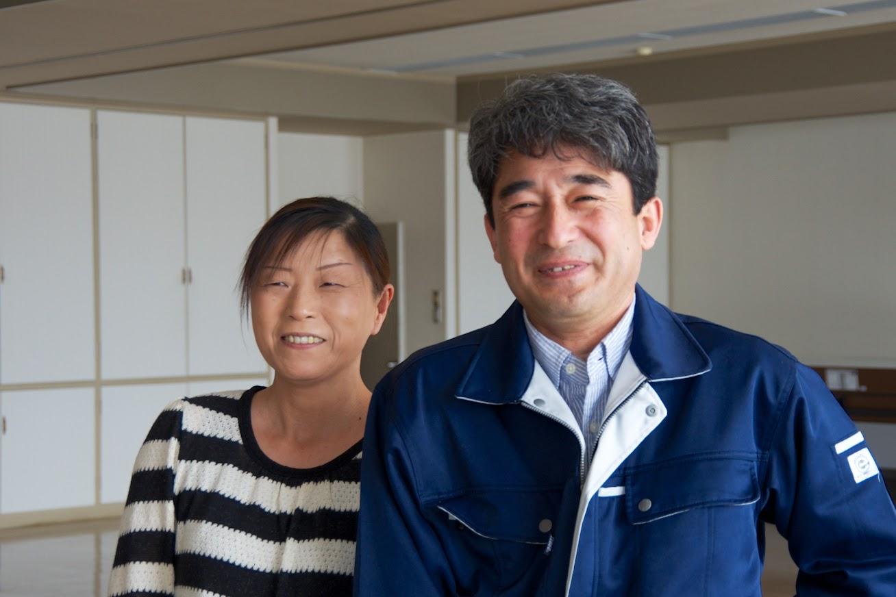 北島勝美さん・静子さんご夫妻