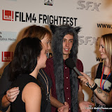 OIC - ENTSIMAGES.COM -  Luna Belan, Nathan Ambrosioni and Shelley Ward at the Film4 Frightfest on Monday   of  Hostile UK Film Premiere at the Vue West End in London on the 31st  August 2015. Photo Mobis Photos/OIC 0203 174 1069