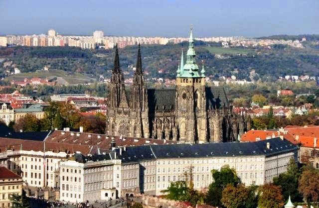 Prag - deo 4/5 - Hradčani - Praški dvorac ( Hradčany - Pražský hrad )