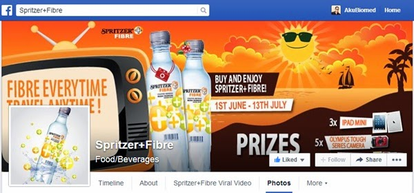 Fanpage Spritzer + Fiber