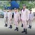 Llegan nuevos miembros de la policia nacional a comandancia de Dajabon