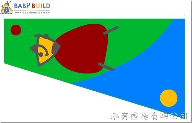 BabyBuild 超現實主義 米羅藝術風格設計