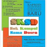SKSD ( Sok Kumpul Sama Dosen ) 2011